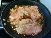 Apple Brown Sugar Chicken
